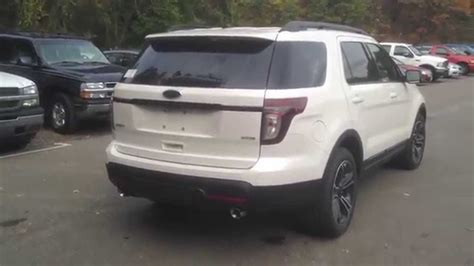2015 Ford Explorer Sport Vs Limited