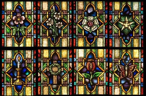 stained glass ls zebaoth windows