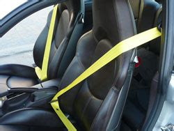 porsche seat belt upgrade redyellowsilverblue