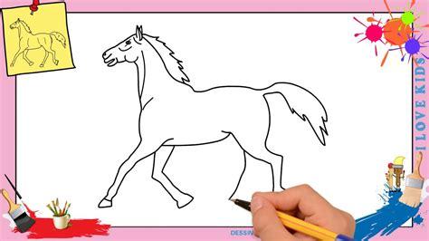 comment dessiner un ladaire dessin cheval 3 facile comment dessiner un cheval facilement etape par etape