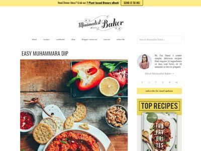 websites  blogs  cooking
