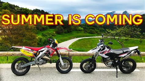 Summer Is Coming |domina 2017| Husqvarna Sms 125