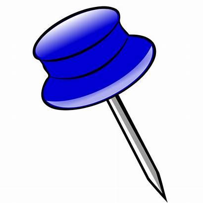 Clipart Clip Sharp Pins Cliparts Svg Pen