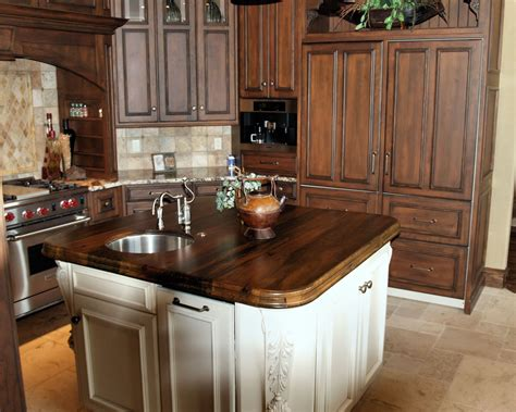 wood island tops kitchens spalted pecan wood countertop photo gallery by devos