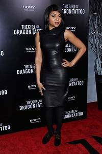 """Taraji P. Henson Pictures - """"The Girl With The Dragon ..."""