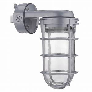 4 Light Grey Fluorescent Heavy Duty Shop Light Lithonia Lighting 300 Watt Incandescent Utility Vapor