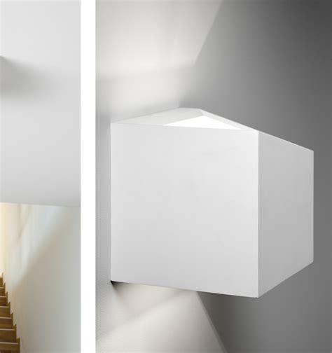 applique offerta sforzin applique da parete in gesso cubo philius small
