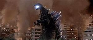 Godzilla Against Mechagodzilla Explosion GIF - Find ...