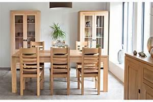 Table Chene Clair : table moderne avec allonges centrales en ch ne clair boston hellin ~ Teatrodelosmanantiales.com Idées de Décoration