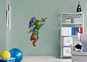 linktm the legend of zeldatm wall decal shop fathead With legend of zelda wall decal ideas for kids