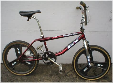 Gt Performer 90's Bmx Bike With Mags Complete Rare Old