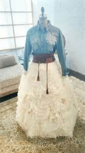 denim and lace wedding dress for a ranch or country wedding ideas hq
