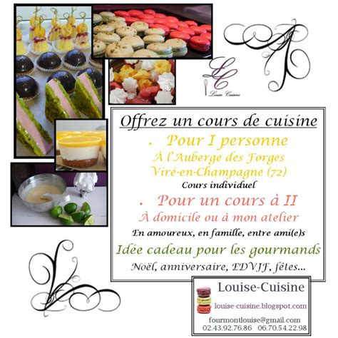 cours de cuisine pour jeunes louise cuisine offrez un cours de cuisine