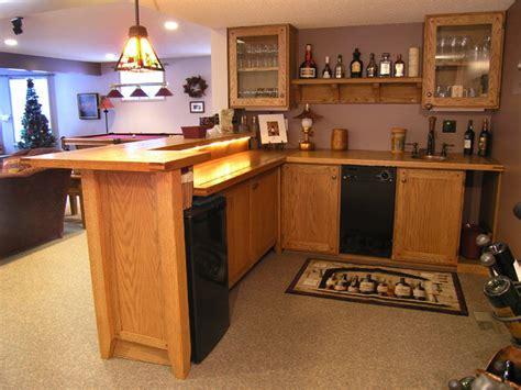 Home Bar Furniture Edmonton custom oak bar traditional home bar edmonton