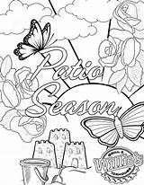 Coloring Patio Books Grill Willie sketch template
