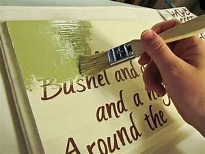 artesanato em tela pinte uma linda mensagem numa tela de With how to make wood signs with lettering