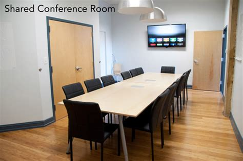 office space and conference room for rent in downtown