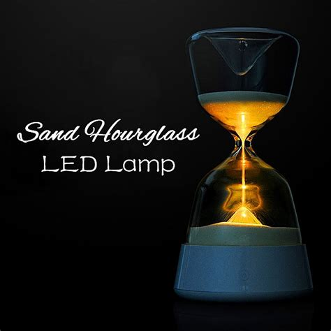 night light app with timer romantic colorful hourglass timer night light bedside