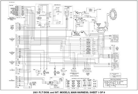 2002 Harley Davidson Wiring Diagram by 2003 Harley Davidson Ultra Wiring Diagram Auto