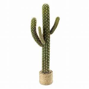 VISTA artificial potted cactus H 109cm Maisons du Monde