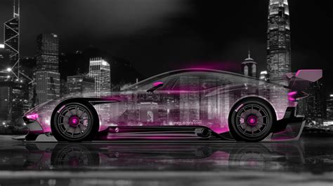 aston martin vulcan side crystal city car  el tony