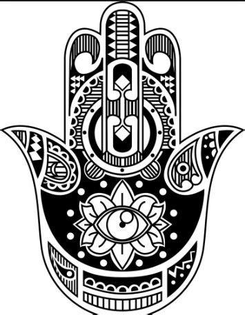 17 Best images about hamsa on Pinterest | Henna, Mandala tattoo and Hamsa art
