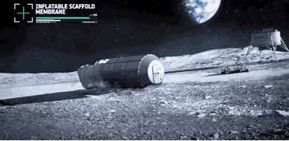 Moon Base Colony Lunar Space Luna Esa