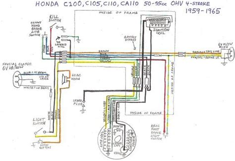 honda cab 70에 있는 meneses님의 핀 diagram honda cub 및 honda