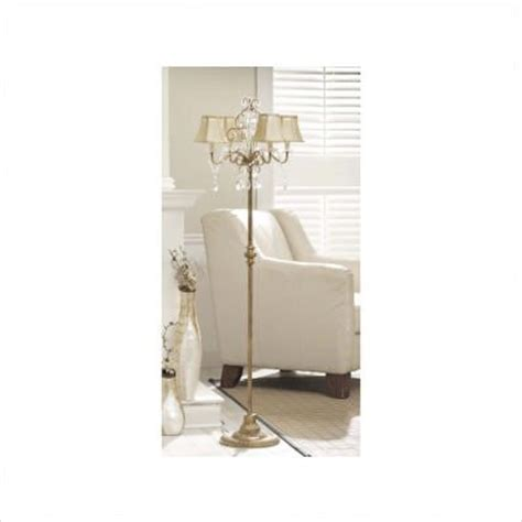 chandelier style floor l where to buy chandelier style 4 arm floor l with draped