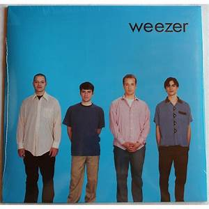 Blue album by Weezer, LP with rocknrollbazar - Ref:115566147