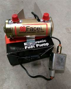Facet Cylindrical Solid State 24v Electric Fuel Pump