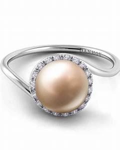 pretty pearl engagement rings martha stewart weddings With wedding rings pearl