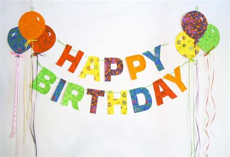 purchase template happy birthday garland with balloons pattern bs2 333 just