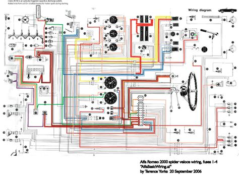 Wiring Diagram For 1984 Alfa Romeo Spider by Yorksite Alfa Info