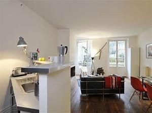 Aménagement Petit Appartement : comment amenager petit appartement ~ Nature-et-papiers.com Idées de Décoration