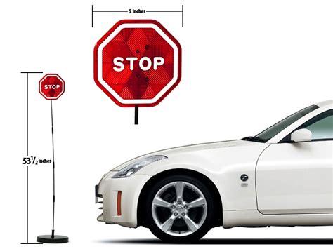 parkez garage parking assistant stop sign sensor led
