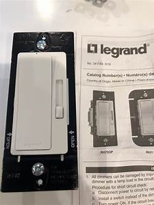 I Am Going To Install A Legrand Dimmer To Replace My Old