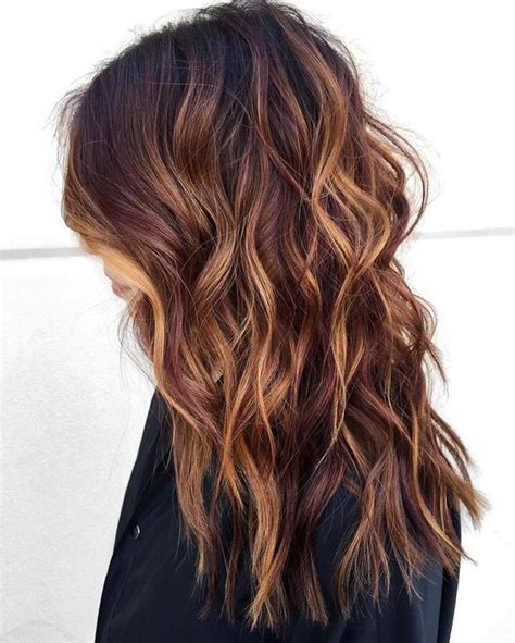 Purple hair highlights are one of today's hottest color trends. 60 Brilliant Medium Brown Hair Color Ideas — Softest ...