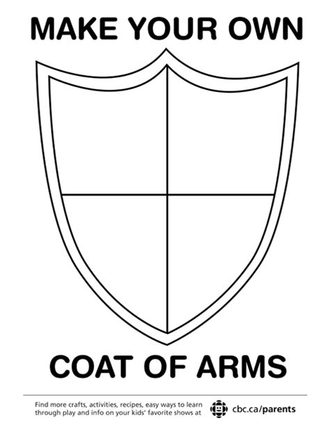 Coat Of Arms Template Coat Of Arms Template Printable Pictures To Pin On