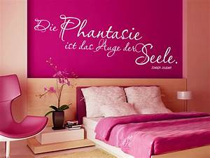 Wandfarbe Flieder Pastell : joseph joubert zitat wandtattoo die phantasie ist das auge der seele von ~ Markanthonyermac.com Haus und Dekorationen