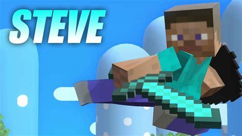 steve minecraft  super smash bros smash  wii  mods