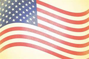 Rustic Faded American Flag Background Royalty Free Stock ...