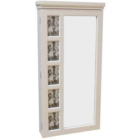 wall mounted jewelry cabinet with mirror sale white wall mounted mirror jewellery cabinet