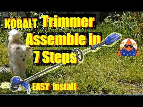 It will either be that they are asking for too much money, or they will not be doing a good enough job of it, or they will not be available when you need them to be. Kobalt 40V WEEDWACKER Cordless String Trimmer Assemble in 7 EASY Steps! - YouTube