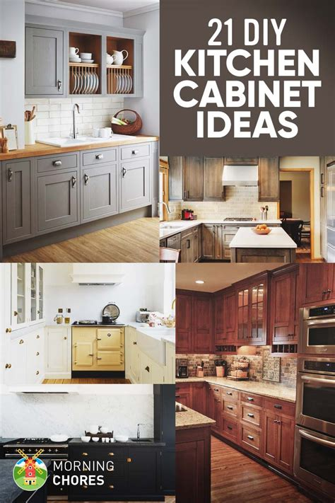 cheap kitchen renovation ideas 21 diy kitchen cabinets ideas plans that are easy