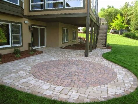 paver patio designs patterns ayanahouse