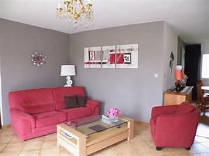 deco salle a manger taupe et rouge With couleur gris taupe peinture 7 quelle couleur pour un salon 80 idees en photos