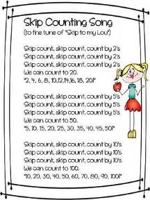 skip skip skip  images math poems math songs