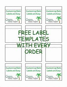 customizable lip balm labels 10 sheets 120 labels white With chapstick label size