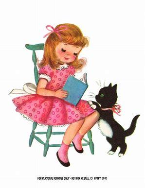 Image result for little girl valentine clip art
